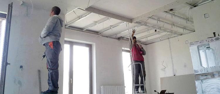Вътрешни ремонти и довършителни дейности
